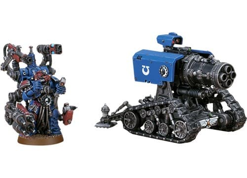 Space Marine Thunderfire Cannon - фото 39486