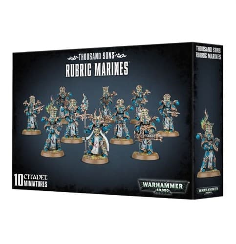 Thousand Sons Rubric Marines - фото 39563