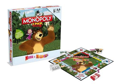 Монополия Маша и Медведь - фото 40164