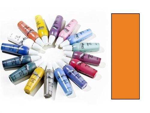 Краска водноакриловая Body/Nail Color Оранжевая светлая