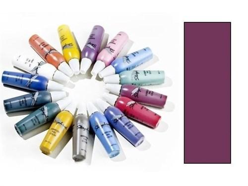 Краска водноакриловая Body/Nail Color Пурпурная
