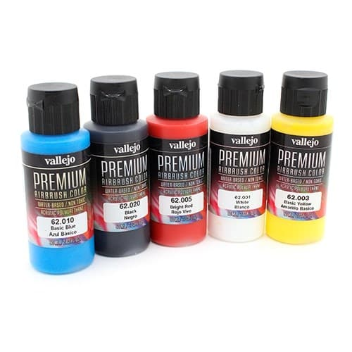Набор кроющих красок Vallejo Premium /5х60мл