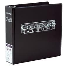"""Альбом """"Ultra-Pro"""" (для листов 2,5х3,5 (3х3 кармашка на листе): черный"""