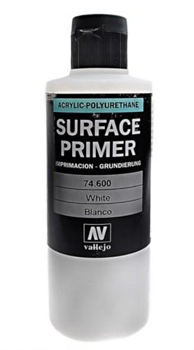 Акриловый грунт - полиуретановый / Белый, 200мл.