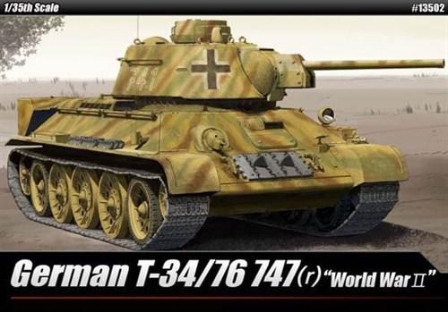 ТАНК GERMAN T-34/76 747(R) (1:35)