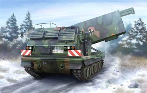 САУ M270/A1 MULTIPLE LAUNCH ROCKET SYSTEM - GERMANY