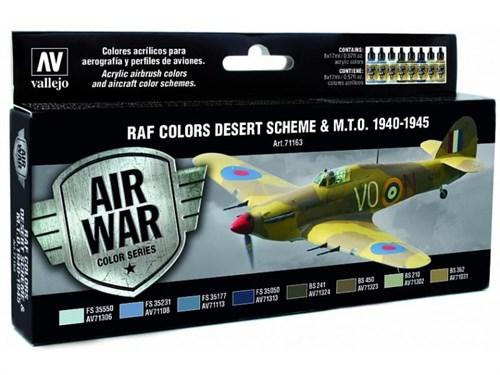 НАБОР MODEL AIR - WWII RAF DESERT (8ЦВ.)