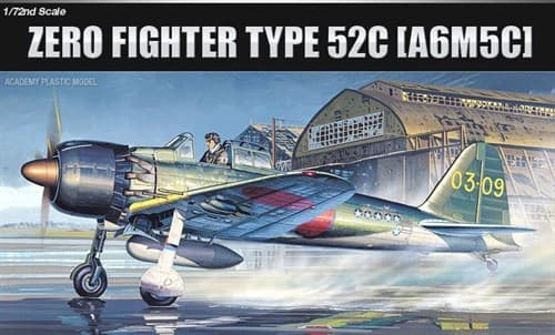 Самолет  A6M5c Zero Fighter type 52c  (1:72) - фото 43018