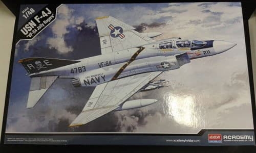 Usn F-4j Phantom (VF-84 Jolly Rogers)  (1:72) - фото 43021