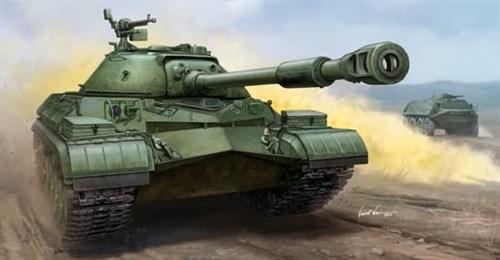 Танк  Soviet T-10A Heavy Tank  (1:35) - фото 43039
