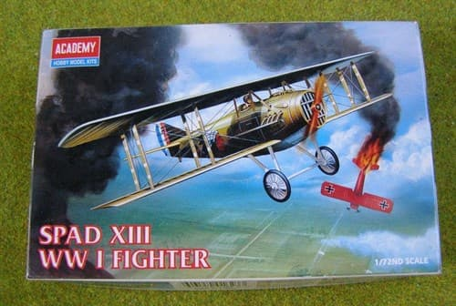 САМОЛЕТ SPAD XIII WWI FIGHTER (1:72)