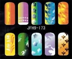 Трафарет для росписи ногтей - фото 43354