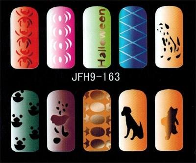 Трафарет для росписи ногтей - фото 43364