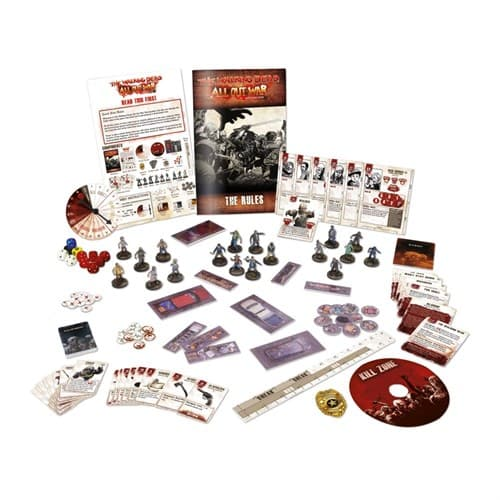 THE WALKING DEAD MINIATURES GAME: ALL OUT WAR CORE GAMES