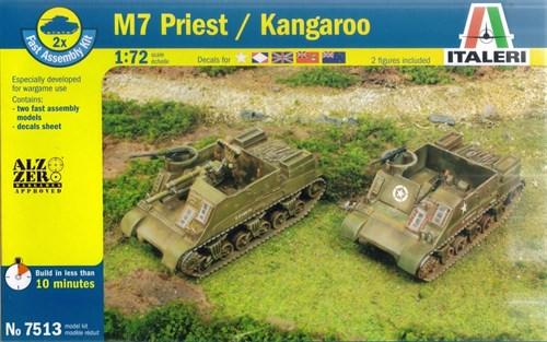 Купите САУ M7 Priest/Kangaroo (1:72) в интернет-магазине «Лавка Орка». Доставка по РФ от 3 дней.