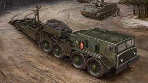 Купите Автомобиль  МАЗ-537 с прицепом  ЧМЗ АП-52 (1:35) в интернет-магазине «Лавка Орка». Доставка по РФ от 3 дней.