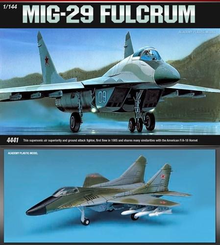 Купите Самолет M-29 FULCRUM (1:144) в интернет-магазине «Лавка Орка». Доставка по РФ от 3 дней.