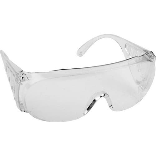 Очки DEXX защитные, поликарбонатная монолинза с боковой вентиляцией, прозрачные - фото 46536