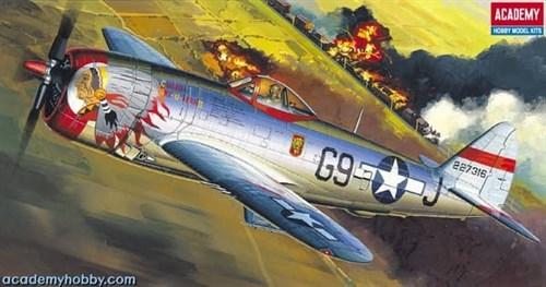 """Купите Самолет  P-47D """"BUBBLE-TOP""""  (1:72) в интернет-магазине «Лавка Орка». Доставка по РФ от 3 дней."""