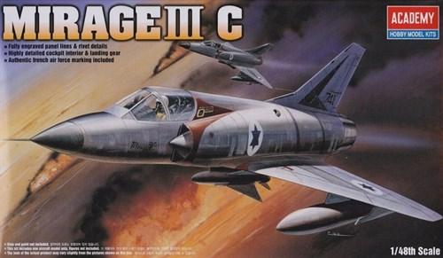 Купите Самолет MIRAGE III-C FIGHTER  (1:48) в интернет-магазине «Лавка Орка». Доставка по РФ от 3 дней.