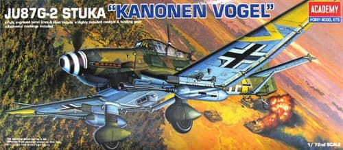 Купите Самолет  Ju-87G-2 Ханс-Ульрих Рудель (1:72) в интернет-магазине «Лавка Орка». Доставка по РФ от 3 дней.