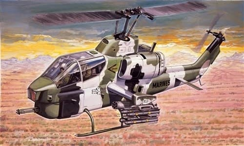Купите Вертолет  AH-1W SUPER COBRA (1:72) в интернет-магазине «Лавка Орка». Доставка по РФ от 3 дней.