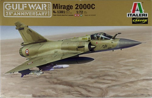 Купите Самолёт Mirage 2000C (1:72) в интернет-магазине «Лавка Орка». Доставка по РФ от 3 дней.