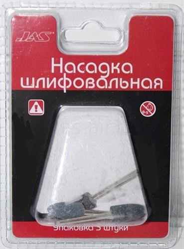 Насадка шлифовальная, карбид кремния, пуля, 10 х 20 мм, 3 шт./уп., блистер - фото 47226