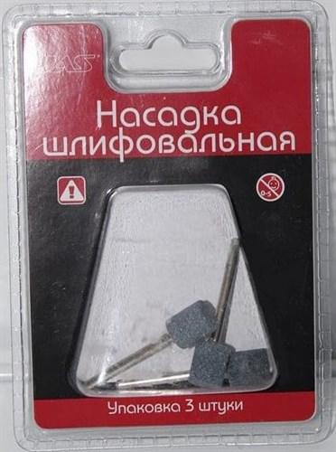 Насадка шлифовальная, карбид кремния, цилиндр, 10 х 12 мм, 3 шт./уп., блистер - фото 47231