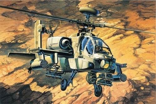 Купите Вертолет AH-64A  (1:48) в интернет-магазине «Лавка Орка». Доставка по РФ от 3 дней.