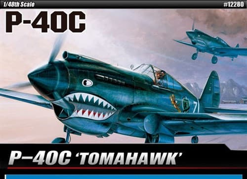 Купите Самолёт  P-40C Tomahawk (1:48) в интернет-магазине «Лавка Орка». Доставка по РФ от 3 дней.