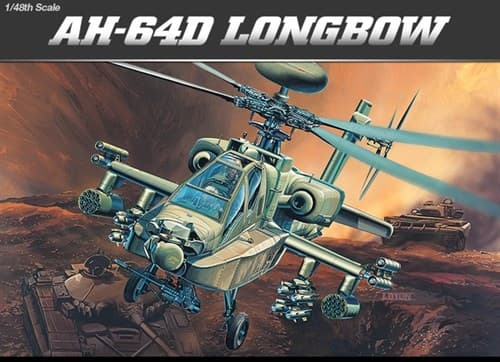 Купите Вертолет AH-64D LONGBOW (1:48) в интернет-магазине «Лавка Орка». Доставка по РФ от 3 дней.