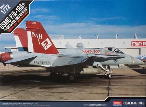 """Купите Самолет USMC F/A 18A+ VMFA-232 """"Red devils"""" (1:72) в интернет-магазине «Лавка Орка». Доставка по РФ от 3 дней."""