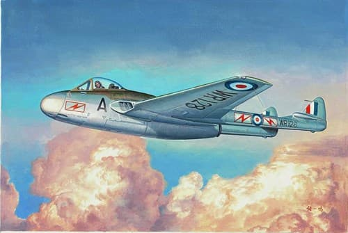 Купите Самолёт  Vampire FB.MK.9 (1:48) в интернет-магазине «Лавка Орка». Доставка по РФ от 3 дней.