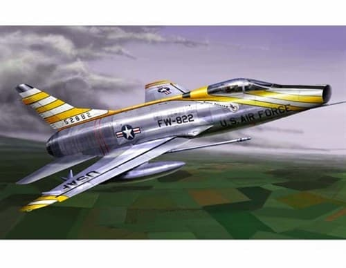"Купите Самолет  F-100D ""Супер Сейбр"" (1:72) в интернет-магазине «Лавка Орка». Доставка по РФ от 3 дней."