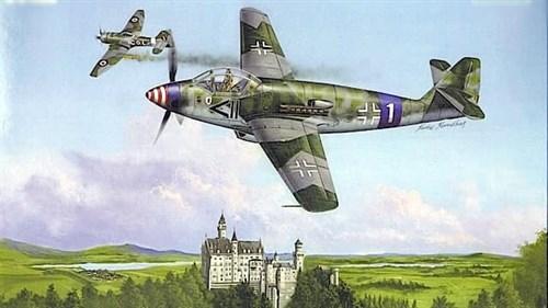 Купите Самолёт  Messerschmitt Me 509 (1:48) в интернет-магазине «Лавка Орка». Доставка по РФ от 3 дней.