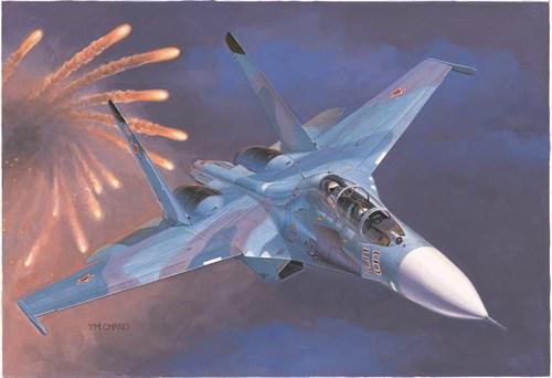 Купите Самолет  Су-27УБ (1:72) в интернет-магазине «Лавка Орка». Доставка по РФ от 3 дней.