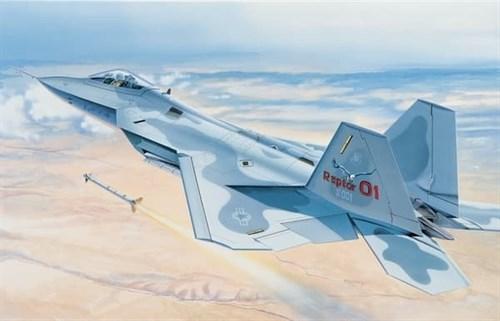 """Купите Самолет  F-22 """"Раптор"""" (1:48) в интернет-магазине «Лавка Орка». Доставка по РФ от 3 дней."""