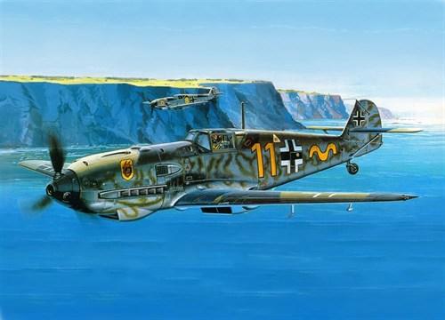 Купите Истребитель Мессершмитт Bf-109E (1:72) в интернет-магазине «Лавка Орка». Доставка по РФ от 3 дней.
