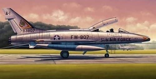 "Купите Самолет  F-100F ""Супер Сейбр"" (1:48)в интернет-магазине «Лавка Орка». Доставка по РФ от 3 дней."