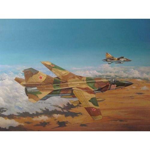 Самолет  Советский МиГ-23МЛ Flogger-C (1:48) - фото 47705
