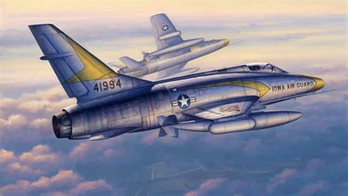 "Купите Самолет  F-100C ""Супер Сейбр"" (1:48) в интернет-магазине «Лавка Орка». Доставка по РФ от 3 дней."