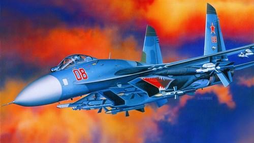 Купите Самолет  S-27 FLANKER B (1:48) в интернет-магазине «Лавка Орка». Доставка по РФ от 3 дней.