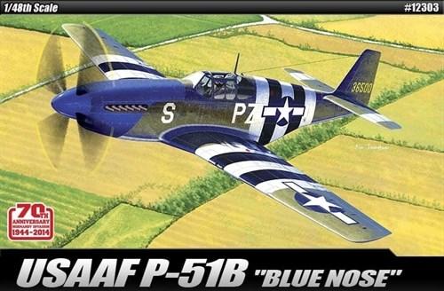 """Купите Самолет  USAAF P-51B """"Anniv. 70 Normandy invasion 1944"""" (1:48) в интернет-магазине «Лавка Орка». Доставка по РФ от 3 дней."""
