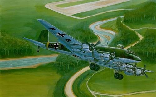 Купите Самолет  FW200 C-4 Condor (1:72) в интернет-магазине «Лавка Орка». Доставка по РФ от 3 дней.