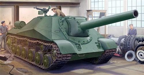Купите ИСУ-152 образца 1945 года (объект 704) (1:35) в интернет-магазине «Лавка Орка». Доставка по РФ от 3 дней.