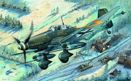 Купите Самолет  Junkers Ju-87G-2 Stuka (1:32) в интернет-магазине «Лавка Орка». Доставка по РФ от 3 дней.