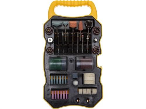 """Набор мини-насадок STAYER """"MASTER"""" для гравировальных машин, 82 предмета, пластиковый кейс - фото 47942"""