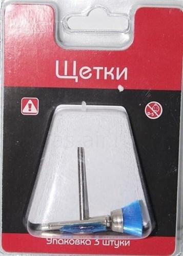 Набор щеток, пластик, 5 мм, 12 мм, 21 мм, блистер - фото 47995