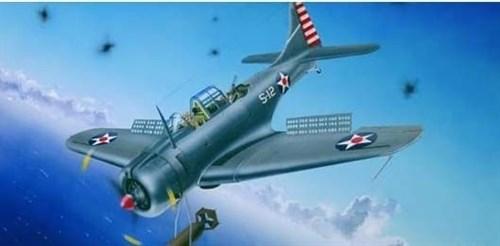 """Купите Самолет  SBD-3/4 - А-24А """"Даунтлес"""" (1:32) в интернет-магазине «Лавка Орка». Доставка по РФ от 3 дней."""